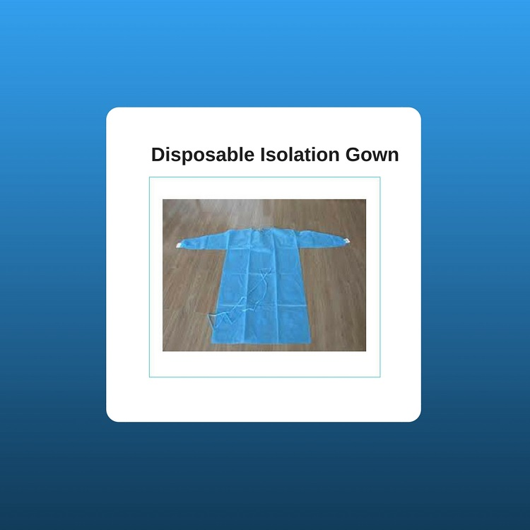 Disposable Isolation Gown (2)