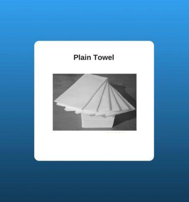 Plain Towel