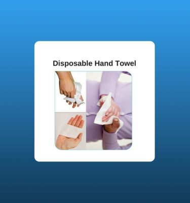 disposable hand towel
